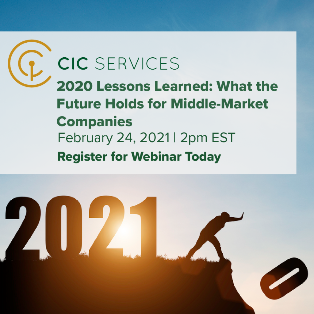 Webinar: 2020 Lessons Learned: Captive Insurance And What The Future Likely Holds For Middle-Market Companies