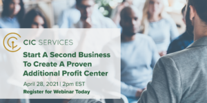 Webinar – Start A Second Business To Create A Proven Additional Profit Center