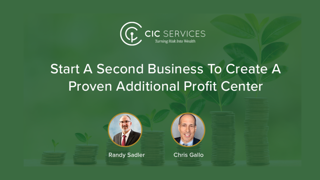 Start A Second Business to Create A Proven Additional Profit Center